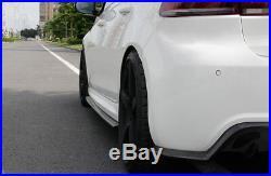 Carbon Fiber Side Skirts Spoiler Bodykit for Volkswagen VW Golf VI MK6 R20 10-13