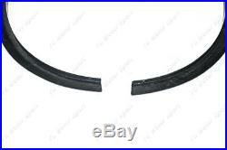 Carbon NSM Style Rear Over Fender Flare Kit For 2002-2008 Nissan 350Z Z33