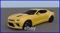 Chevrolet Camaro Wide Body Kit 9 pcs. Chevy VI Full Fender Flares Set SS RS ZL1