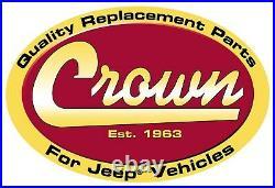 Crown Automotive 55254918K6 Fender Flare Kit Fits Wrangler (Lj) Wrangler (Tj)