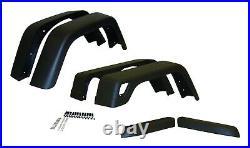 Crown Automotive 55254918K76 Fender Flare Kit Fits 97-06 Wrangler (TJ)