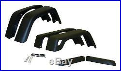 Crown Automotive 55254918K76 Fender Flare Kit Fits Wrangler (LJ) Wrangler (TJ)