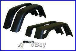 Crown Automotive 55254918K7 Fender Flare Kit Fits 97-06 Wrangler LJ/TJ 2.4-4.0 L