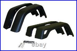 Crown Automotive 55254918K7 Fender Flare Kit Fits Wrangler (LJ) Wrangler (TJ)
