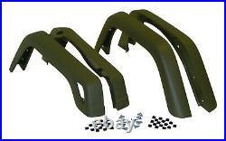 Crown Automotive 55254918K Fender Flare Kit Fits 97-06 TJ Wrangler