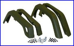 Crown Automotive 55254918K Fender Flare Kit Fits Wrangler (LJ) Wrangler (TJ)