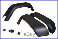 Crown Automotive 5KFK Fender Flare Kit Fits 07-17 Wrangler (JK)