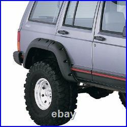 Cut Out Fender Flare Kit for Jeep Cherokee XJ 1984-2001 4 Door Bushwacker