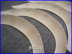 DATSUN 1200 TS General Size Fender Flares Kit (Fits NISSAN Sunny B110 B120 B122)