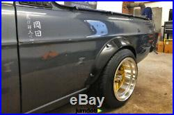 Datsun 1200 Fender flares kit JDM wheel arch Nissan Sunny Truck B120 2.75 4pcs