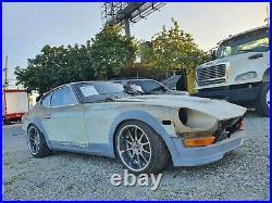 Datsun 240z 260z 280z wide body kit fender flares speed forme style