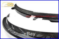 EOS Body Kit For 14-Up Corvette C7 CARBON FIBER Front Wheel Trim Fender Flare