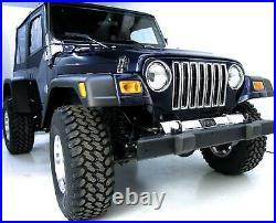 Extended Size 7 Fender Flare Kit for Jeep Wrangler 1997-2006 Rugged Ridge