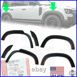Extended wheel arch kit New Defender 110 2020 wide protection USA fender flares