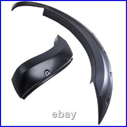 FRONT REAR WIDE BODY WHEEL ARCH FENDER FLARE KIT For Ford Ranger T6 2012-2015