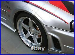 FRP Front Over Fender Flare Kit For 1999-2002 Nissan Skyline R34 GTR NSM Style