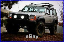 Fender Flare-6 Piece All Terrain Kit 4-Door 84-01 Jeep Cherokee XJ fits Cherokee