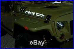 Fender Flare Hardware Kit-Hurricane Fender Flare Kit Rugged Ridge 11640.25