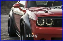 Fender Flare-Kit 4 Pc. Auto Ventshade 850250 fits 08-21 Dodge Challenger