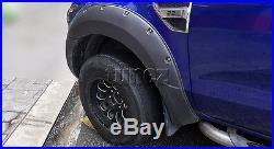 Fender Flare Kit Black For Ford Ranger T6 PX1 2011-2014 Wheel Arch ABS Flares ET