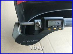 Fender Flare Kit Slim Matte Black Guard Sensor Hole Fits Ford Ranger PX3 MK3 201