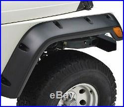 Fender Flare Kit for 1997-2006 Jeep Wrangler TJ Models, Pack of 6
