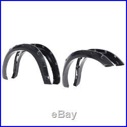 Fender Flares Kit Set Wheel Cover Protector Trim For 2009-2016 DODGE RAM 1500