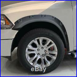Fender Flares Kit for 2009-2018 Dodge Ram 1500, 2019 Ram 1500 Classic Exclude R