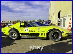 Fender Flares for Chevrolet Corvette C3 Stingray wide body kit 2.75+3.5 set KL