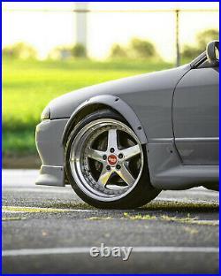 Fender Flares for Nissan Skyline R32 GTR wide body kit JDM wheel arch2.04pcs KL
