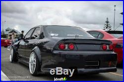Fender Flares for Nissan Skyline R33 wide body kit Arch Extensions 2.0+3.5 set