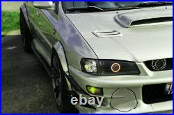 Fender Flares for Subaru Impreza GC GF wide body kit wheel arch JDM2.04pcset KL