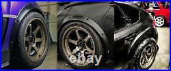 Fender Flares for Subaru Impreza wide body kit JDM wheel arch GV GRB 50mm 4pcs