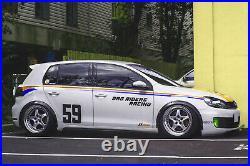 Fender Flares for Volkswagen Golf Mk6 body kit JDM wheel arch ABS2.050mm4pcs KL