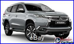 Fender flare kit front & Rear Grey suitable for Mitsubishi Pajero Sport QE 2016