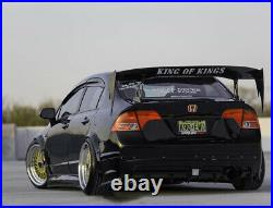 Fender flares for Honda Civic FA FD Arch Extensions JDM wide body kit2.04pcs KL
