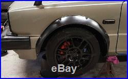 Fender flares for Honda Civic I & II wide body kit JDM wheel arch 3.5 90mm 4pcs
