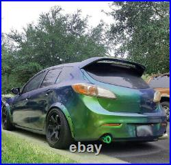 Fender flares for Mazda 3 wide body kit JDM Arch Extensions 2.0 50mm 4pcs KL
