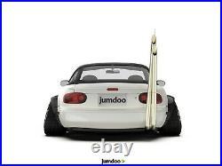 Fender flares for Mazda MX-5 JDM wide body kit wheel arch Miata 120mm 4pcs