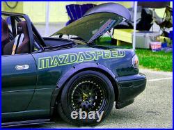 Fender flares for Mazda MX-5 Miata wide body kit JDM wheel arch ABS 2.0 4pcs KL