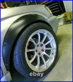 Fender flares for Subaru Forester SG wide body kit Arch Extensions 3.5 4pcs KL