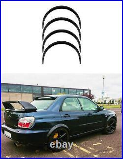Fender flares for Subaru Impreza wide body kit Arch ExtensionsJDM2.04pcs set KL