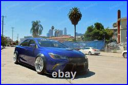 Fender flares for Toyota Camry XV50 JDM wide body kit wheel arch 90mm 3.5 4pcs