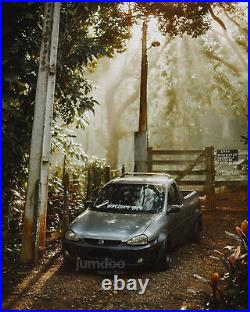 Fender flares for Vauxhall Corsa Opel wide body kit Holden Chevrolet 90mm 4pcs