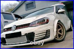 Fender flares for Volkswagen Golf mk7 LEGEND wide body kit wheel arch 65mm 4pcs