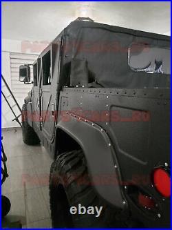 Fenders Flares Predator + Fasteners Kit for Hummer H1 / HUMVEE