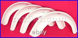 Fiat 500 4 cm Abarth 695 Fender Flares Kit New