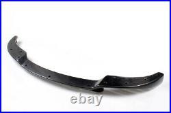 Fit for BMW E60 M5 05-09 Front Bumper Lip Spoiler Body Kit Carbon Fiber Trim