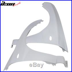 Fits 02-03 Subaru Impreza WRX STi Front Wide Fender Kits FRP