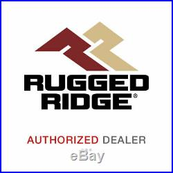 Fits 07-18 Wrangler (JK) Rugged Ridge 11640.25 Hurricane Fender Flare Kit